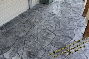 McSherrystown - Adams County - Stamped Concrete Flagstone and European Cobble  - July 2012 - 07