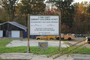 Delta Borough - York County - YCPC CDBG Program - October and November 2011 - 12