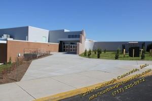 Hanover PA - Adams County - New Concrete Sidewalks - November 2011 - 05